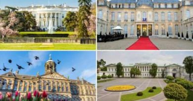 22 majestic residences of Heads of State
