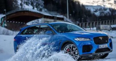 The off-road luxury of the Jaguar F-Pace